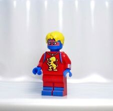 A713 Lego CUSTOM PRINTED Marvel Game INSPIRED CAPTAIN BRITAIN Superhero Minifig