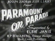 PARAMOUNT ON PARADE (DVD) - 1930 - Maurice Chevalier, Richard Arlen