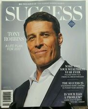 Success Jan 2017 Tony Robbins A Life Plan For 2017 Wealthiest FREE SHIPPING sb