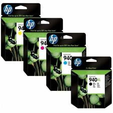 Genuine Original Hp 940XL Set BCMY C4906 C4907 C4908 Ink Cartridge New Boxed x4
