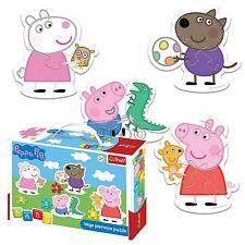 Trefl 2/3/4/5 Piezas Bebé Niños Infantil Unisex Peppa Pig 4 en forma de rompecabezas