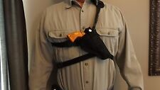 "Right Hand Draw Bandoleer / Shoulder CHEST Holster RUGER .357 LCR w/ 2"" barrel"