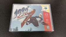 1080° Snowboarding 1080 Nintendo 64 N64 New Case with Free Artwork * NO GAME *