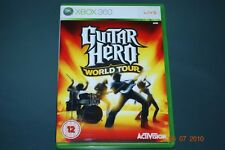 Guitar Hero World Tour Xbox 360 Inglaterra Pal ** GRATIS UK FRANQUEO!! **