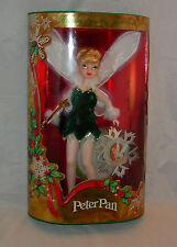 Disney Peter Pan HOLIDAY SPARKLE TINKERBELL Tinker Bell Doll MIB special edition