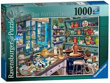 NEW! Ravensburger My Haven No. 3 The Pottery Shed 1000 piece nostalgic jigsaw