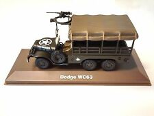DODGE WC63 1:43 SCALE - DIECAST MILITARY VEHICLE ARMY TRUCK ATLAS WWII - 16