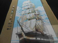 """Anchor """"Clipper""""  Printed Tapestry Canvas"""