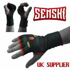 Senshi Japan Padded Inner Hand Wraps Gloves Fist Bandage Straps Boxing MMA