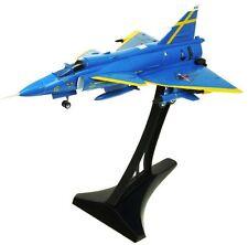 AVIATION72 AV7242003 1/72 SWEDISH SAAB VIGGEN F16-32 JA37 BLUE PETER UPPSALA