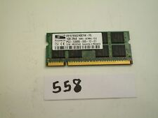 ProMOS 1Gb 667Mhz PC2-5300 2Rx8 200pin DDR2 SODIMM laptop memory RAM (558)
