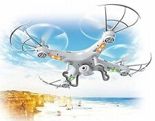 Top Race TR-Q511 4-Channel Quad Copter Drone with Camera,1 Key Return