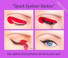 80 pcs Stickies Perfect Quick Eyeliner Stencils Cosmetic Eye Makeup Tool NEW US2
