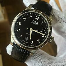NEW! ORIS Classic Date Automatic Men's Watch 01 733 7594 4094 W/ 2 YEAR WARRANTY