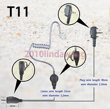 1-wire Surveillance Earpiece Vertex Standard VX231 VX261 VX264 Portable Radio