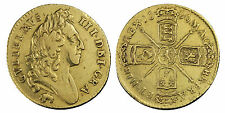 1696 Half-guinea William III Elepahnt and Castle gold coin
