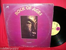 THE BAND In Concert Rock of Ages Double LP 1972 UK First Pressing MINT-