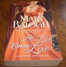 At Last Comes Love Mary Balogh