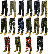 "ARMY CARGO CAMO COMBAT MILITARY TROUSERS/PANTS 28""-56"" WAIST 32"" & 30"" LEG"