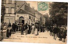 CPA NÉRAC - Un jour de marché – Rue du Manege (210617)