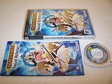 TALES OF THE WORLD RADIANT MYTHOLOGY - Sony PSP - Boxed Complete - MINT RPG
