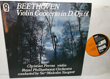 ST 971 Beethoven Violin Concerto Christian Ferras Royal Philharmonic Sargent
