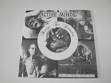 """ACTIVE MINDS - """"Recipe For Disaster"""" 7"""" EP. Political hardcore punk."""