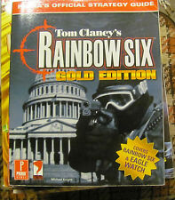 Prima's Tom Clancy's Rainbow Six Gold Edition game guide