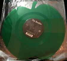 The Beatles - Love Me Do / P.S. I Love You - Green Apple Shaped Vinyl Record