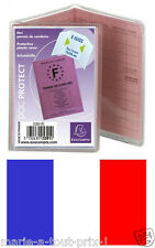 Pochette de protection pour GRAND PERMIS DE CONDUIRE plastique MADE IN FRANCE