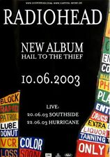 RADIOHEAD - 2003 - Promoplakat - Hail to the Thief