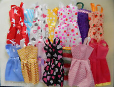 Barbie Dolls Dresses Clothes x 10 all different