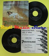 LP 45 7'' ENNIO MORRICONE Marcia dei mac gregor Santa fe express no cd mc dvd