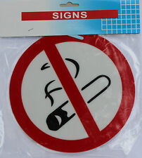 Non Fumeur,Auto Signe Autocollant Pour Bureau,Restaurants,Hotels, Diamètre 9 cm