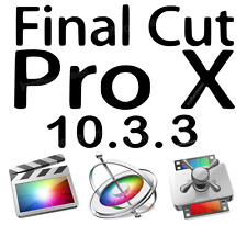 Apple Final Cut Pro X 10.3.3 Plus Motion & Compressor - 100% Legal FULL VERSION!