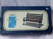 WOOD PARK BENCH DOLLS 16''-18'' NIB by DREAMPLAY Fits American Girl Size Dolls