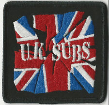 U.K. Subs-Party In Paris Embroidered Patch
