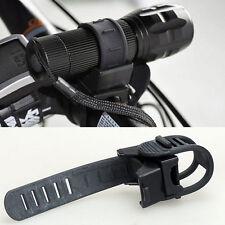 Taschenlampe Halter Universal 360° Lampe Halterung für Fahrrad Lenkerhalterung