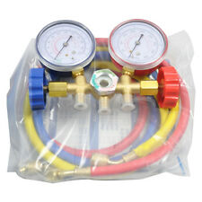 A/C Car Refrigeration Air Conditioning Diagnostic Manifold Gauge Tools