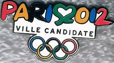 2012 London Paris Olympic Candidate City Bid Pin