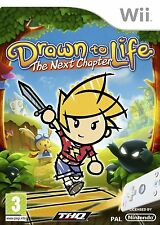 Drawn To Life The Next Chapter For PAL Wii (New & Sealed)