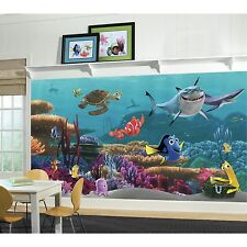 New XL FINDING NEMO WALLPAPER MURAL Kids Room or Bathroom Prepasted Wall Decor
