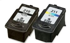 2-PK PG-210 & CL-211 Ink For Canon PIXMA iP MP MX