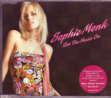 Sophie Monk Get The Music On Australian CD single (2003)