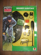 GI JOE ACTION MAN    PANOPLIE MISSION SABOTAGE