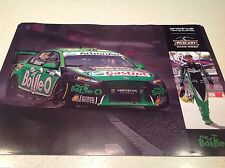 V8 SUPERCARS FORD PRODRIVE MARK WINTERBOTTOM MOTOR RACING POSTER bottleO 1 GR8