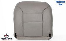 1997 Chevy Suburban 1500 2500 LT -PASSENGER Side Bottom Leather Seat Cover GRAY-