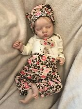 REBORN BABY GIRL BELLA TWIN B BY BONNIE BROWN REALISTIC NEWBORN DOLL LOW START!
