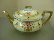 "Crown devon Fieldings ""Dora"" Blush ware Teapot"
