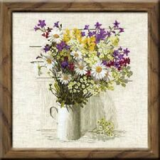 "Counted Cross Stitch Kit RIOLIS - ""Wildflowers"""